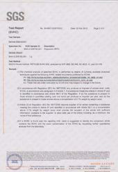 ASIM REACH验证30-1证书
