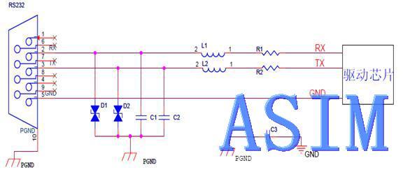 二 , rs232 接口电路 emc 设计 rs232接口 防静电设计 接口电路设计