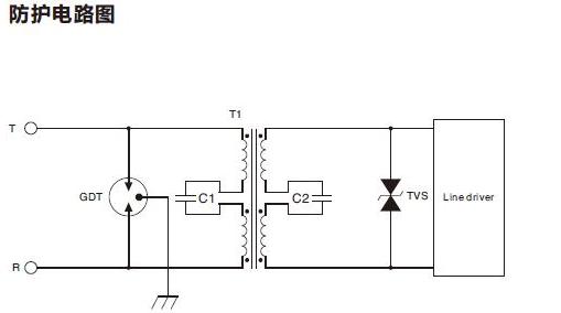VDSL防护方案